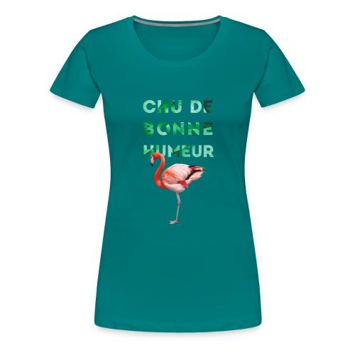 Pl_tshirt_typo flamand_40 - T-shirt Premium Femme