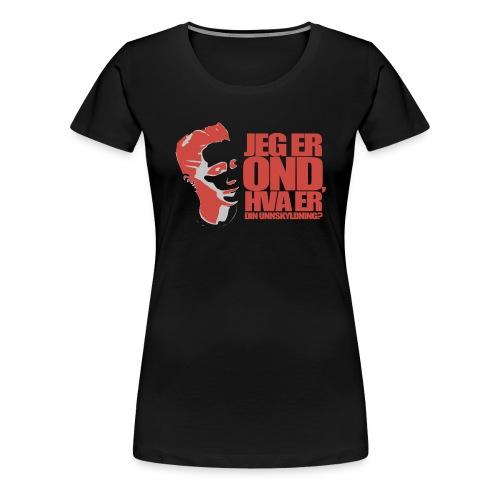 BEOP - OND Original design LYS - Premium T-skjorte for kvinner