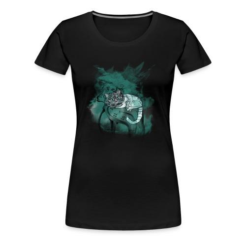 Cat chester - Camiseta premium mujer