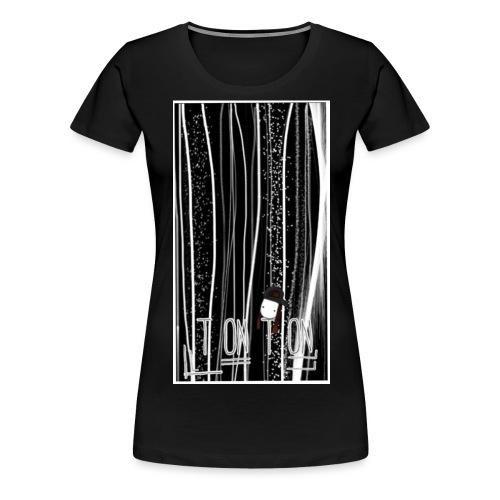 strich shirt jpg - Frauen Premium T-Shirt