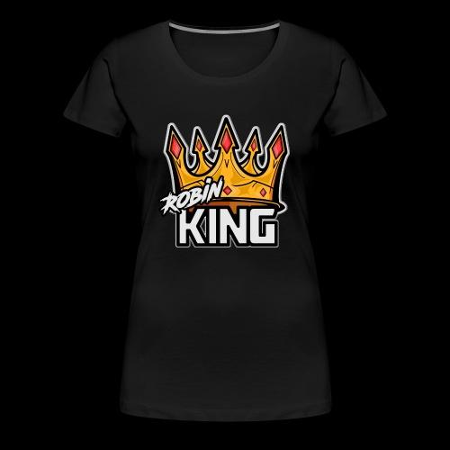 RobinKING - Premium-T-shirt dam