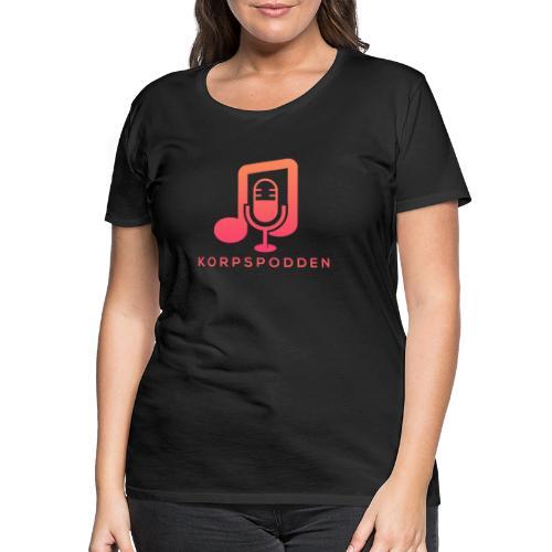 Korpspodden - Premium T-skjorte for kvinner