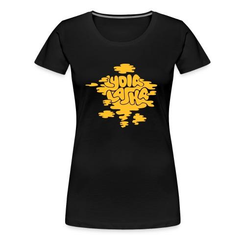 skyer - Premium T-skjorte for kvinner