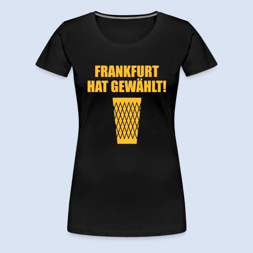 Frankfurt Wahl - Frauen Premium T-Shirt