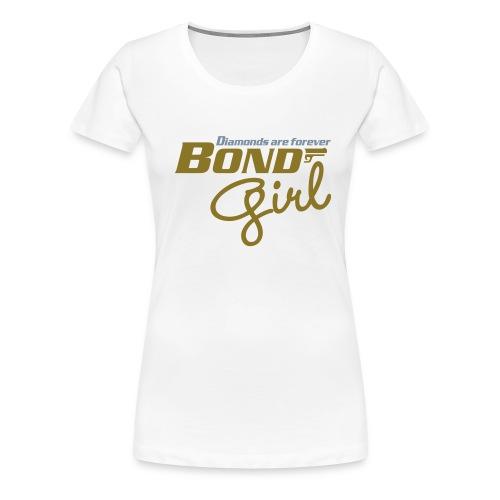 BondGirl - Vrouwen Premium T-shirt