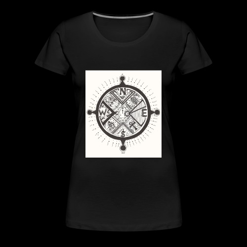 La Maison Des Mains Angel Cove - Women's Premium T-Shirt