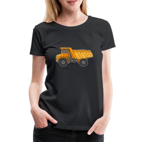 Kipplaster, Muldenkipper - Frauen Premium T-Shirt