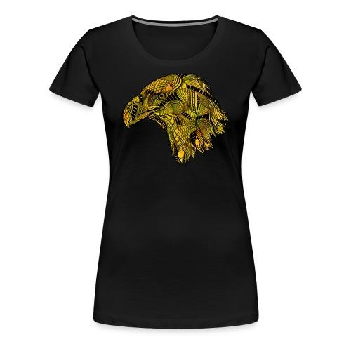 Gul ørn - Premium T-skjorte for kvinner