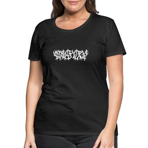 UNREADABLE BAND NAME - Women's Premium T-Shirt