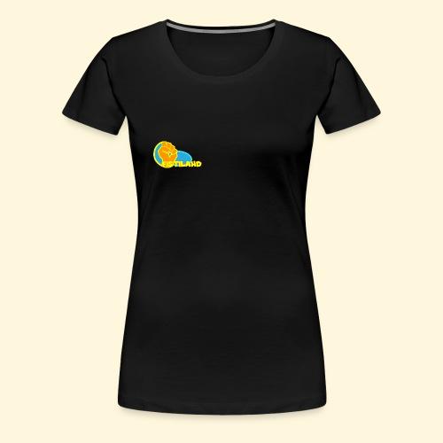 FISTILAND en couleur - T-shirt Premium Femme