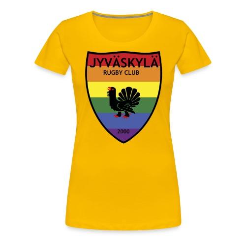JRC Pride - Naisten premium t-paita