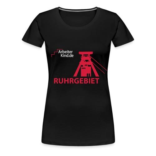 logo 2farbig klein - Frauen Premium T-Shirt