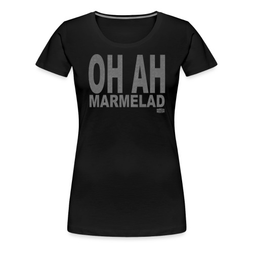 Marmelad5grey - Premium-T-shirt dam