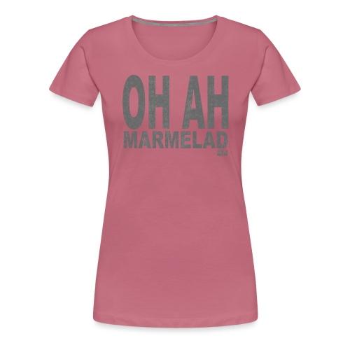 Marmelad5grey - Premium-T-shirt dam