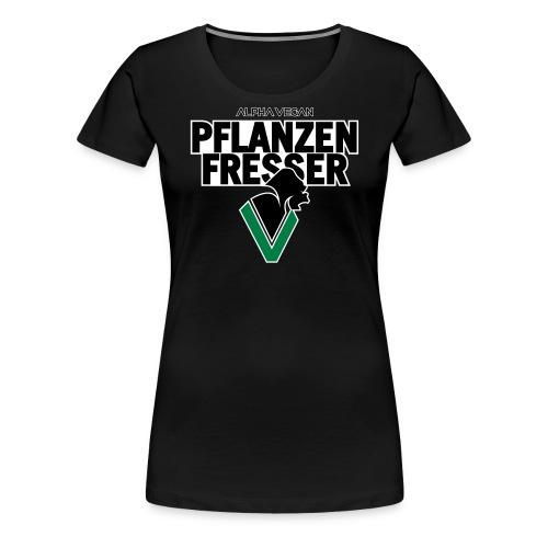 Pflanzenfresser_Bold - Frauen Premium T-Shirt