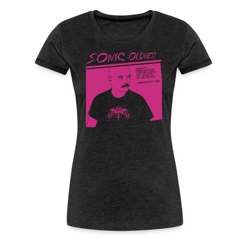 porz-sonic-oldness NEG - Women's Premium T-Shirt