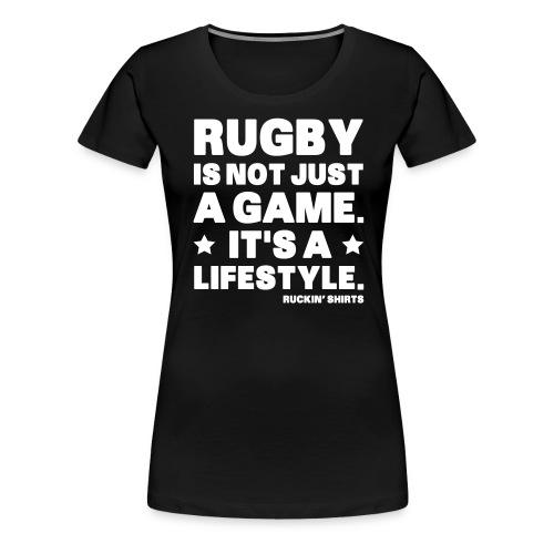 Not Just a Game - Women's Premium T-Shirt