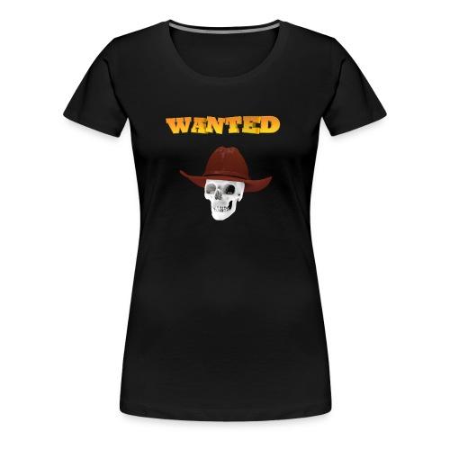 WANTED AR - Camiseta premium mujer