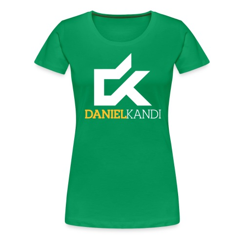 kandi black background - Women's Premium T-Shirt