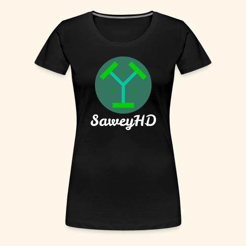SaweyHD Schwarz - Frauen Premium T-Shirt