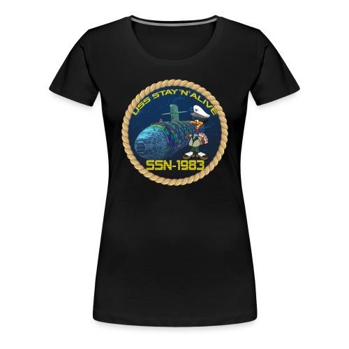 Command Badge SSN-1983 - Women's Premium T-Shirt