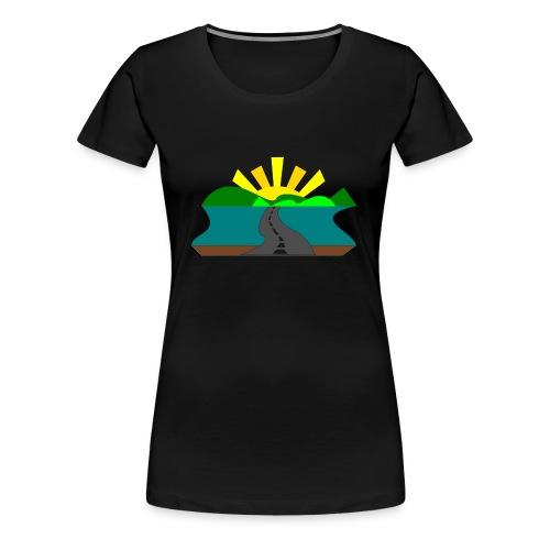 land - Camiseta premium mujer