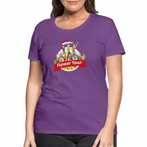 Flower Tour rondom Keukenhof - Vrouwen Premium T-shirt