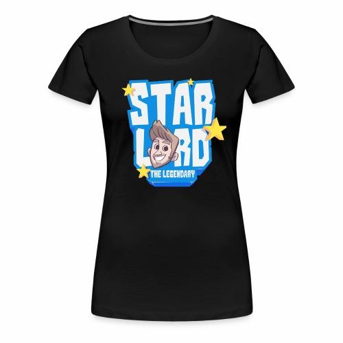 Blue Tee Logo - Women's Premium T-Shirt