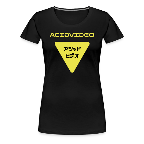 Acidvideo logo - Women's Premium T-Shirt
