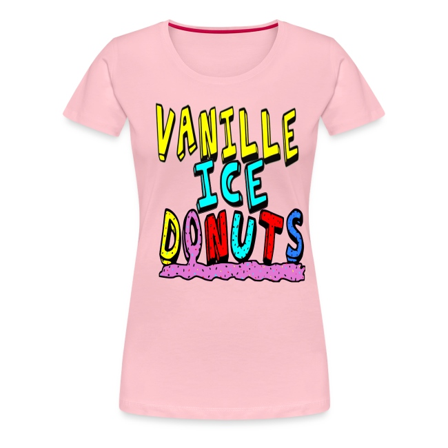 vanille eis donuts