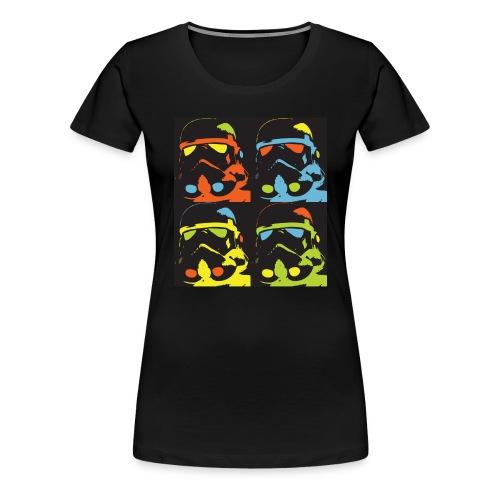 Storm Warhol - T-shirt Premium Femme