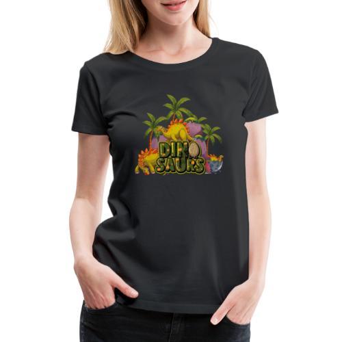 My Dinosaurs - Camiseta premium mujer