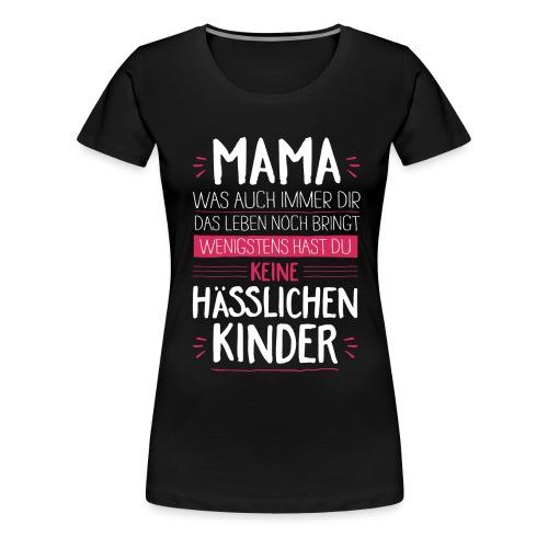 Mama - Kinder <3 - Frauen Premium T-Shirt