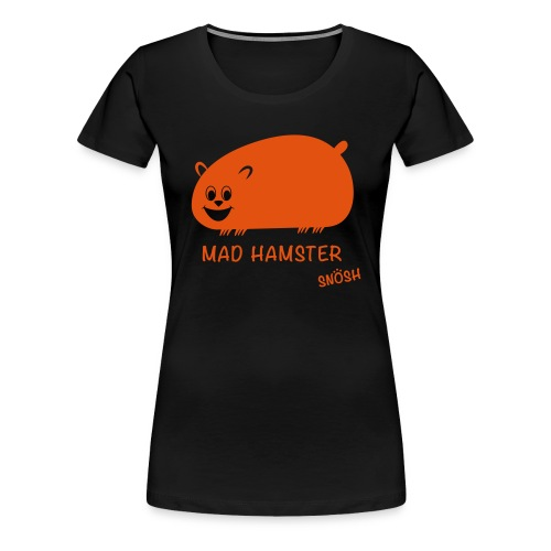 Mad Hamster orange - Women's Premium T-Shirt