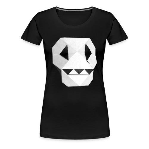 Origami Skull - Skull Origami - Calavera - Teschio - Women's Premium T-Shirt