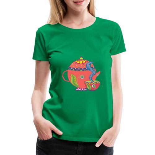 L'heure du thé - T-shirt Premium Femme