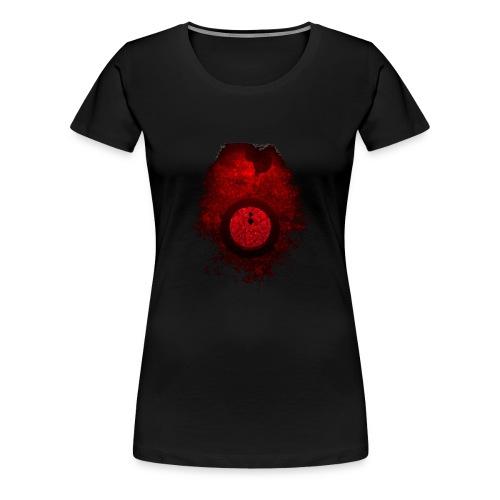 Neon Golden Herz - Frauen Premium T-Shirt