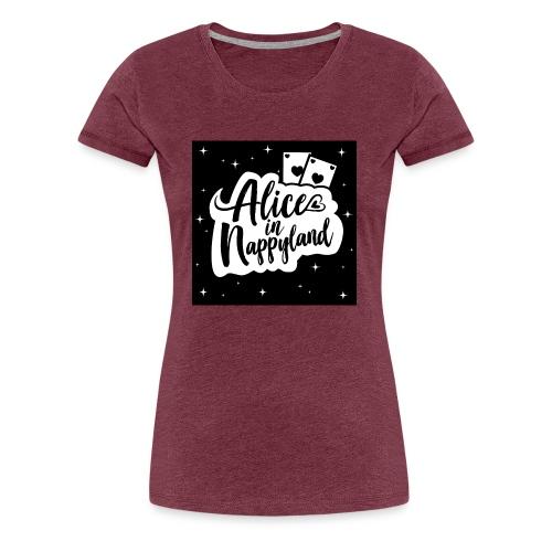 Alice in Nappyland 1 - Women's Premium T-Shirt