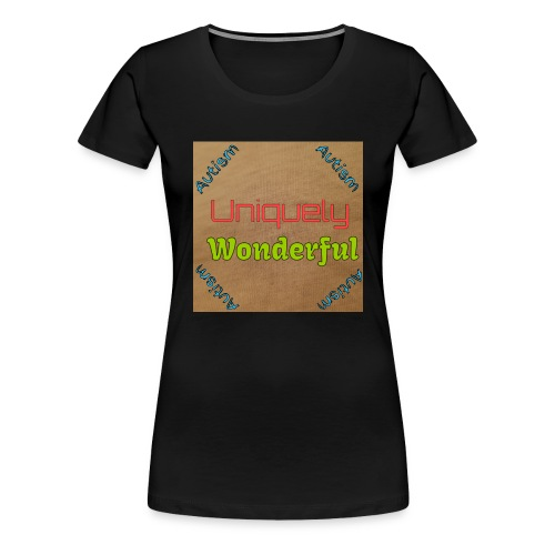 Autism statement - Women's Premium T-Shirt