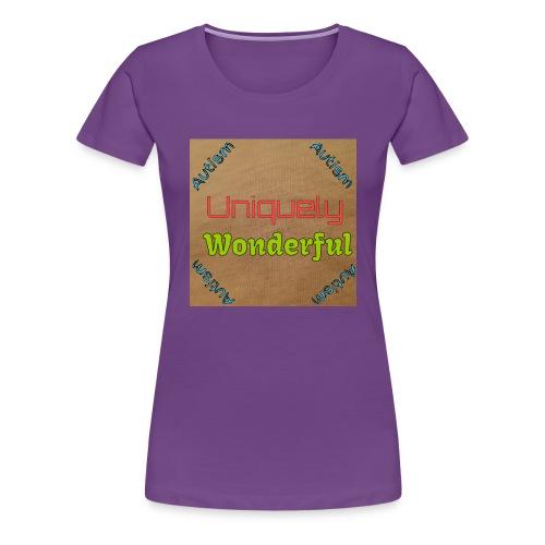 Autism statement - Women's Premium T-Shirt