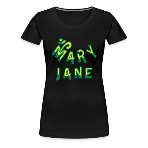 Mary Jane - Women's Premium T-Shirt