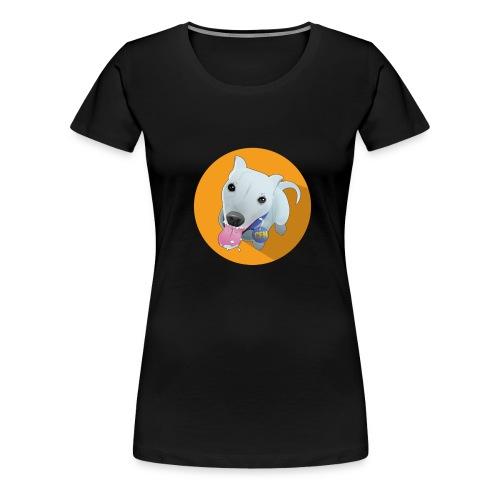 computerfiguur 1024 - Vrouwen Premium T-shirt