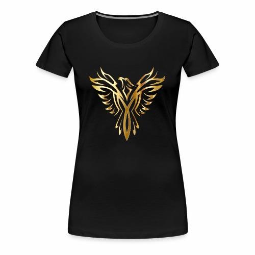 Złoty fenix - Koszulka damska Premium