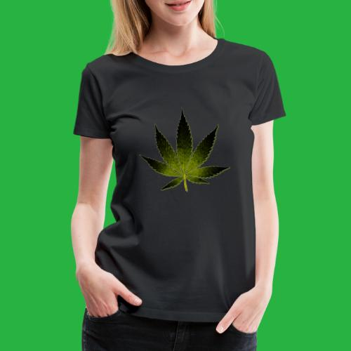 hanfblatt - Frauen Premium T-Shirt