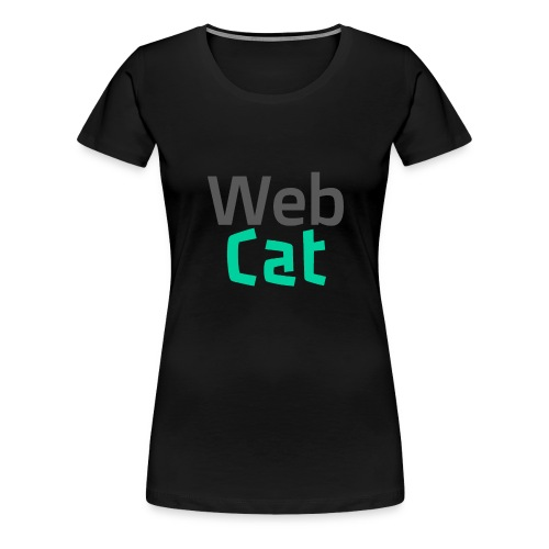 WebCat - Women's Premium T-Shirt