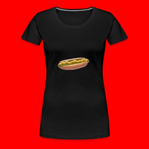 Suolakurkku Hodari - Naisten premium t-paita