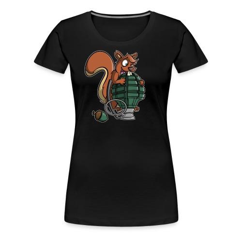 Eichhörnchen Granate - Frauen Premium T-Shirt