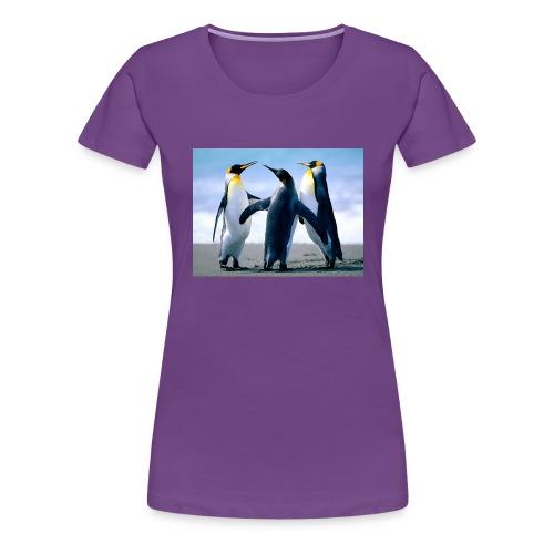Penguins - Maglietta Premium da donna