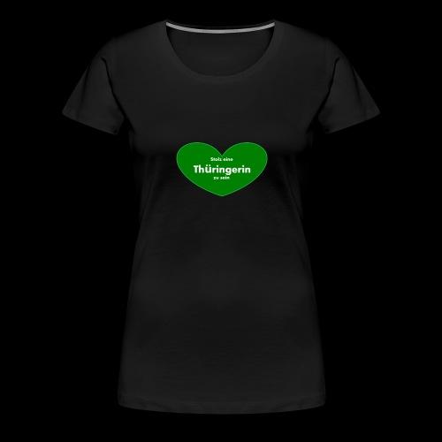 Thüringerin - Frauen Premium T-Shirt