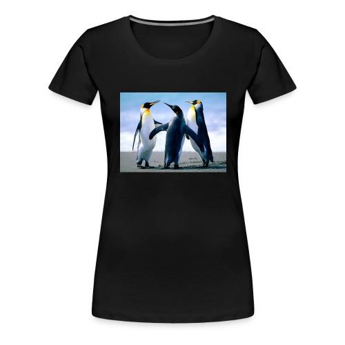 Penguins - Premium T-skjorte for kvinner